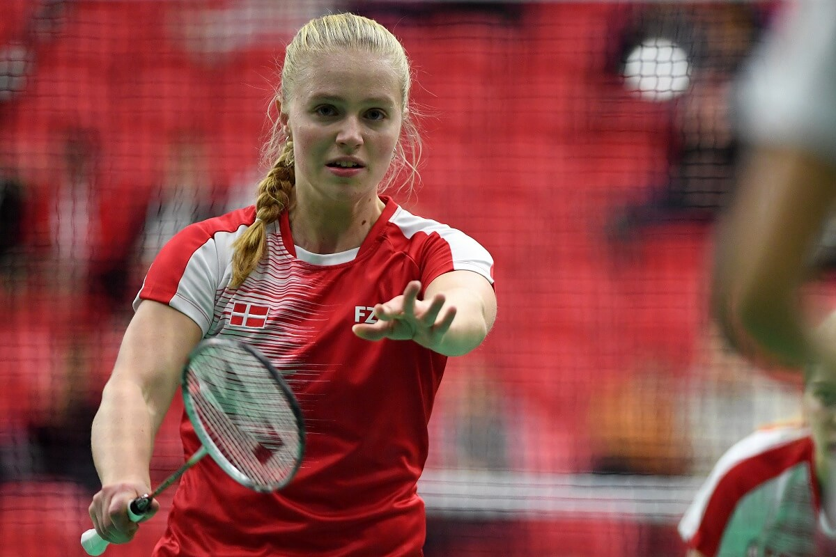 Amalie Magelund Krogh - UVM 2018 - Badmintonphoto - Ungdomslandshold - Landshold