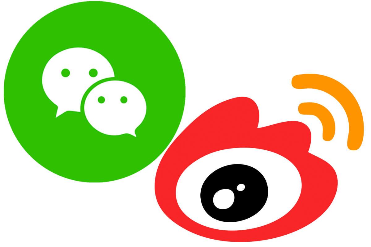 Kinesisk social media - WeChat - Weibo - Kina