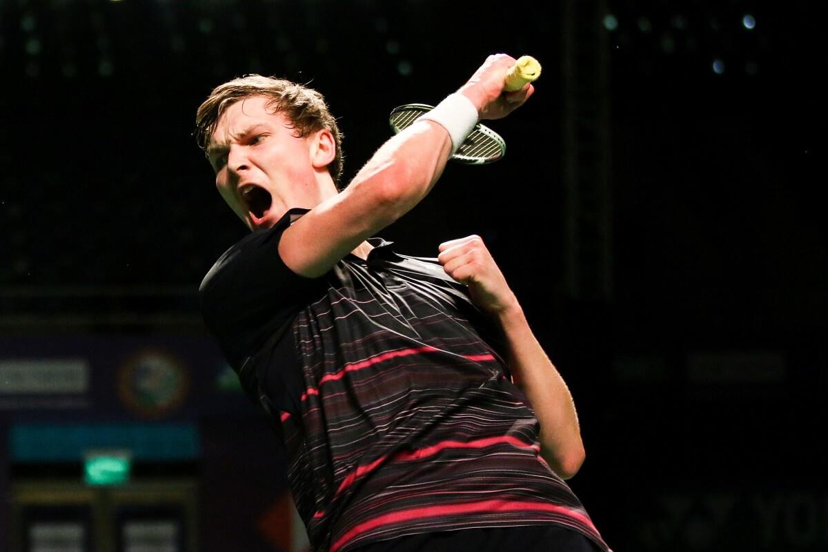 Artikelbillede - Viktor Axelsen - India Open - Glæde