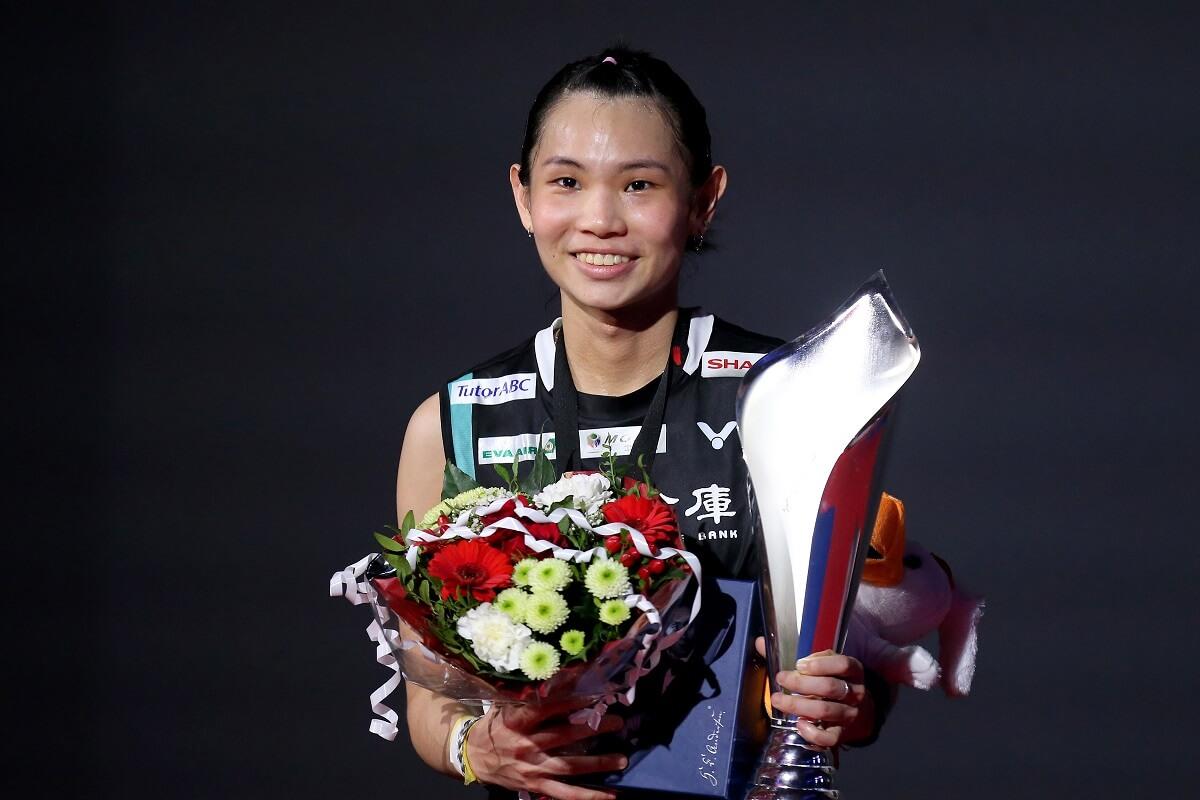 Tai Tzu Ying - DENMARK OPEN - Danisa Denmark Open presented by VICTOR - medalje - pokal - glæde
