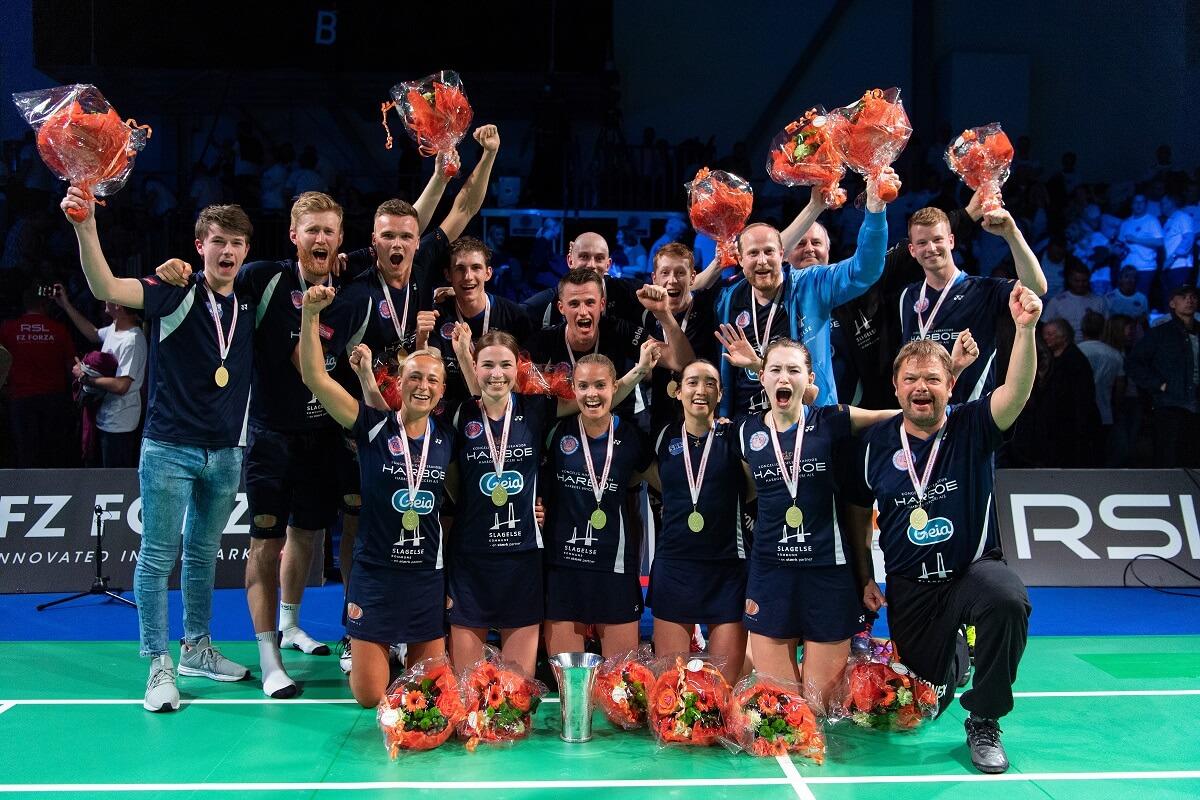 Team Skælskør-Slagelse - TSS - Badmintonliga - Badmintonligafinale - Guldkamp