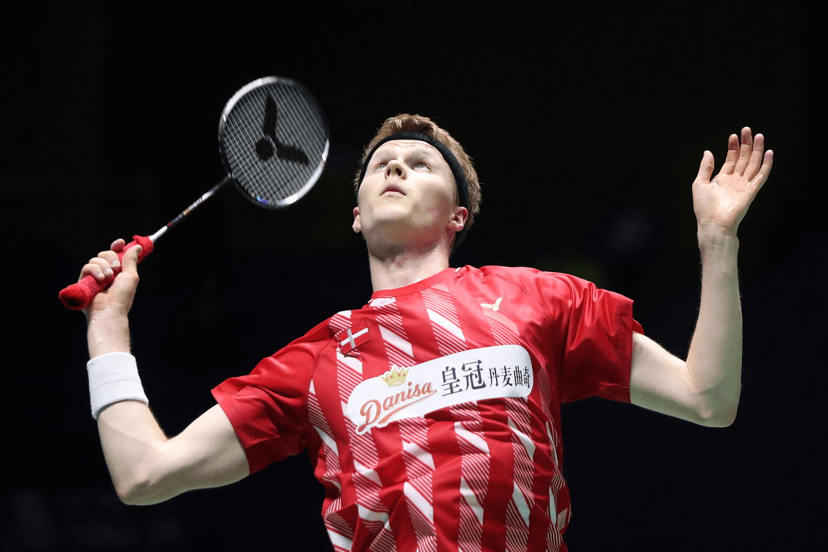 Badmintonphoto - Artikelbillede - Anders Antonsen - VICTOR - Danisa