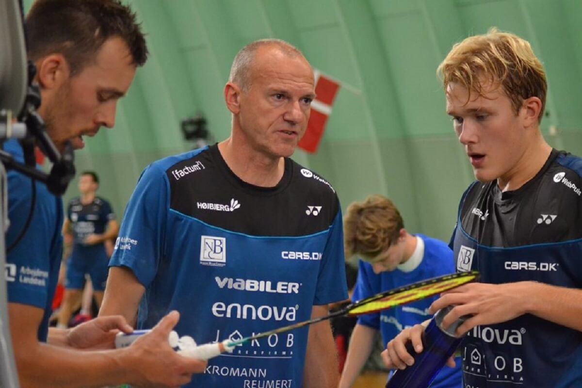 Michael Kjeldsen - Højbjerg - Mads Vestergaard - Badmintonliga - Anders Skaarup - Højbjerg