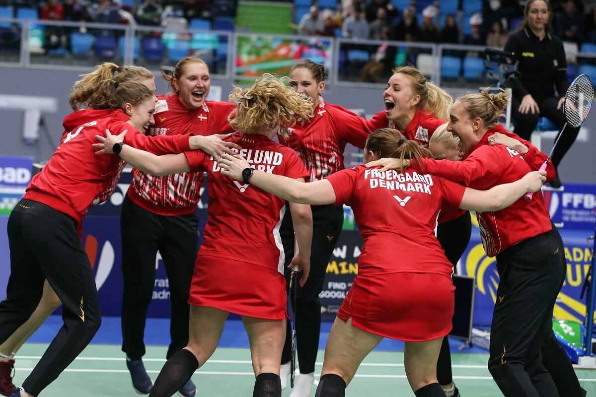 Mia Blichfeldt - Badmintonphoto - Landshold - Danisa - VICTOR - Mille Food - EM for herre- og damelandshold - fælleesskab