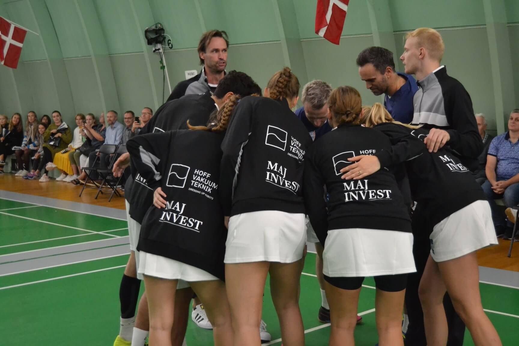 Tine Bay, Højbjerg Badmintonklub