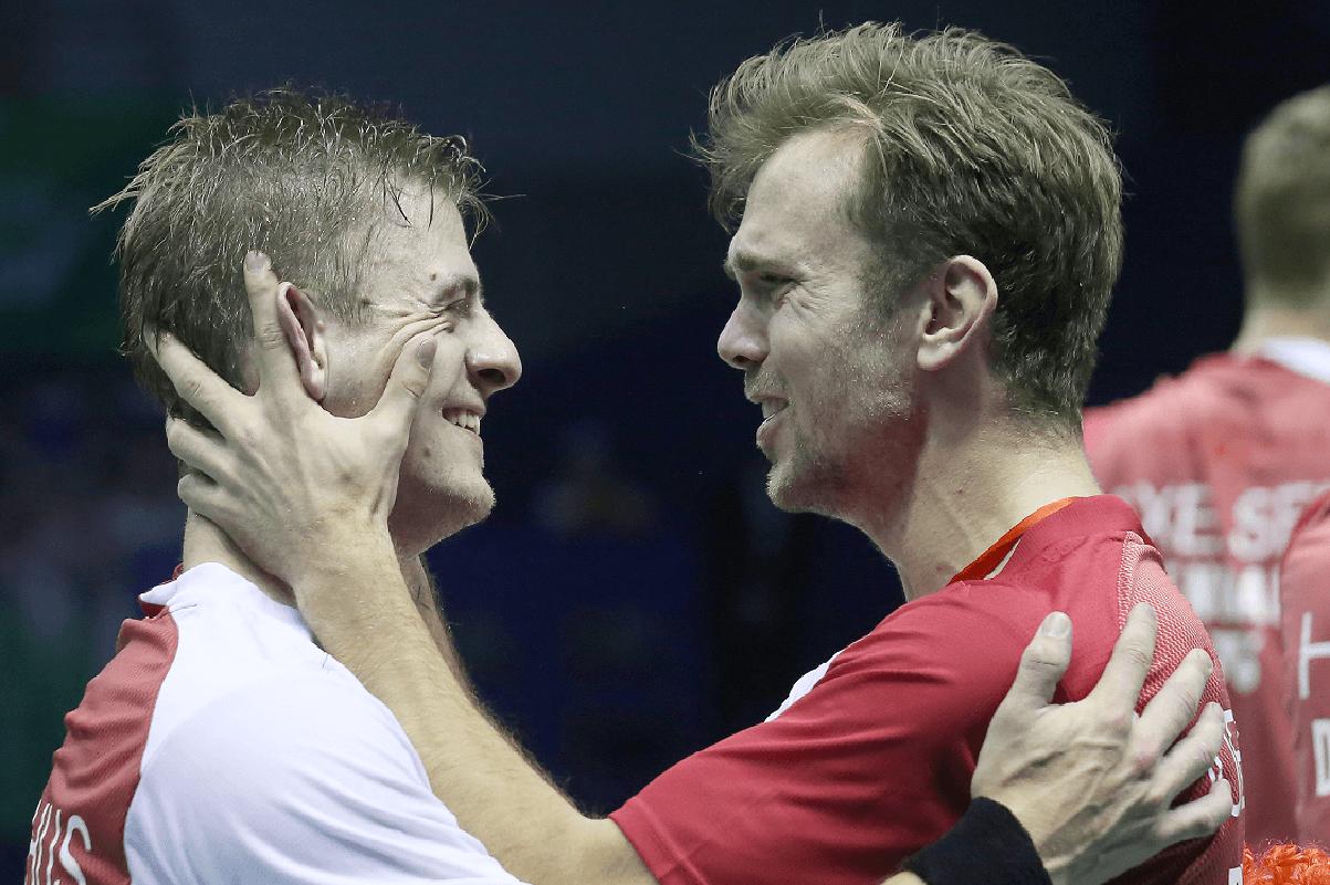 Hans-Kristian Solberg Vittinghus - Jan Ø. Jørgensen - Thomas Cup 2016 - verdensmester -