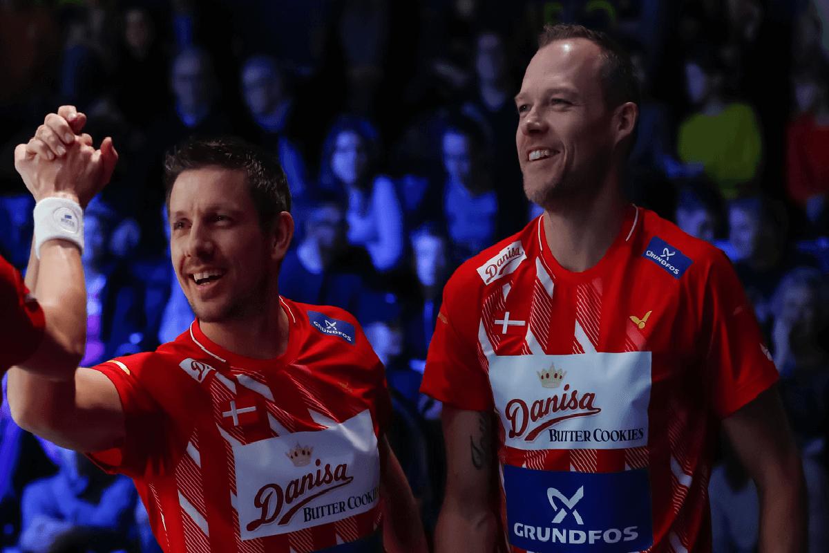 Jakob Høi - Kenneth Jonassen - EM Mixed Teams 2019 - landstrænere - Danisa - Grundfos