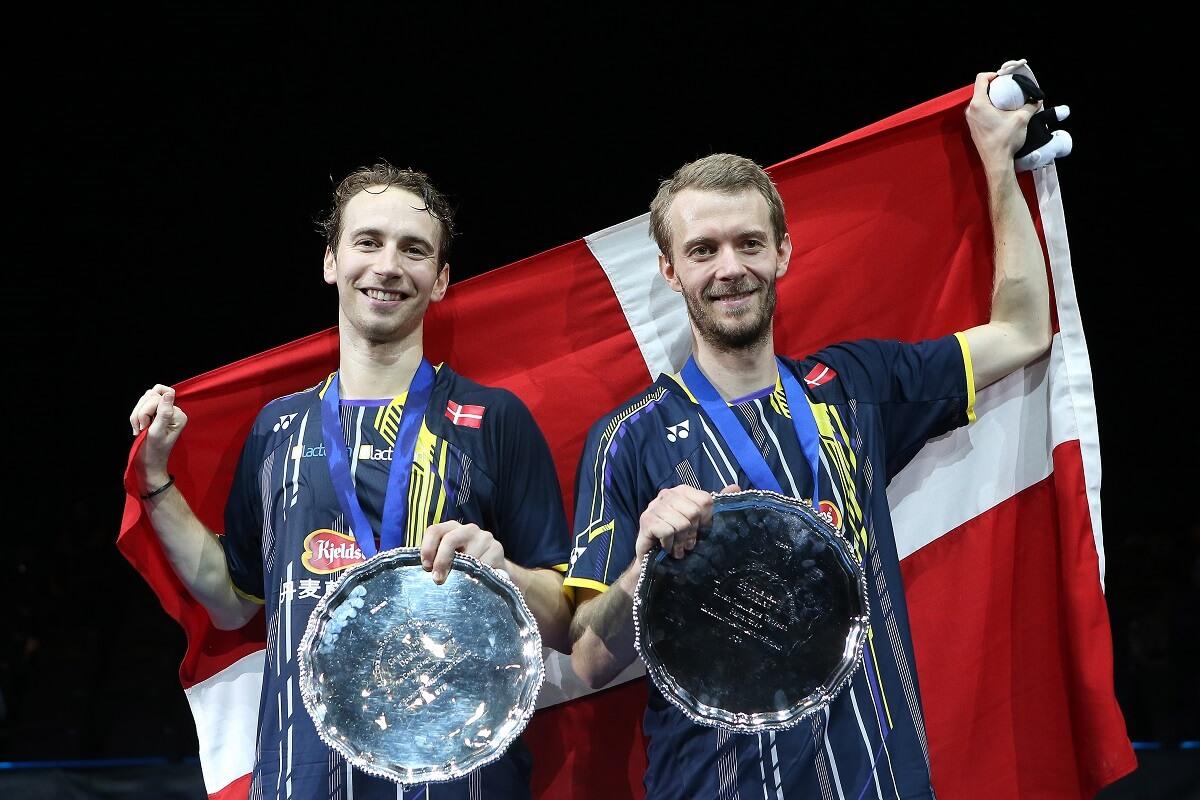 Mathias Boe - Carsten Mogensen - All England 2015 - Sejr - Oplevelse - Glæde - Fællesskab - Udvikling - Danmark - Dannebrog - Trofæ - Pokal