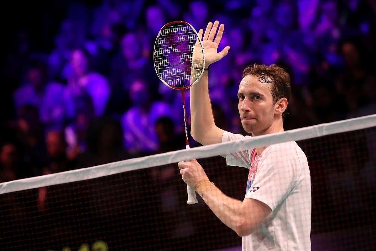 Mathias Boe - Klap - Tak - Takker af - Denmark Open - Badmintonphoto