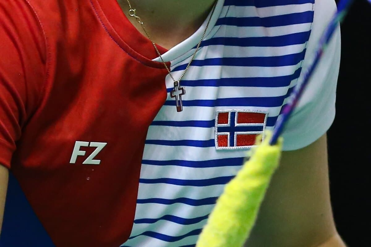Norge - FZ FORZA - Norway - Badmintonphoto - Flag