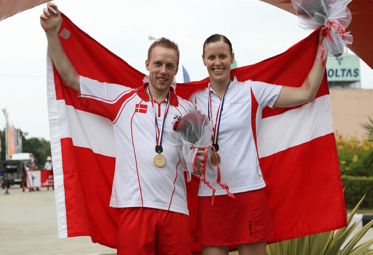VM 2009 - Indien - verdensmestre - mixeddouble - guld - glæde - Kamilla Rytter Juhl - Thomas Laybourn