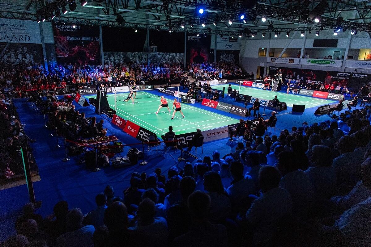Badmintonligaen - Lars Møller - Ligafinalen - Badmintonligaen - Guldkampen - Frederiksberg Hallerne - Tilskuere - Publikum - Oplevelse - Fællesskab - RSL - Fans