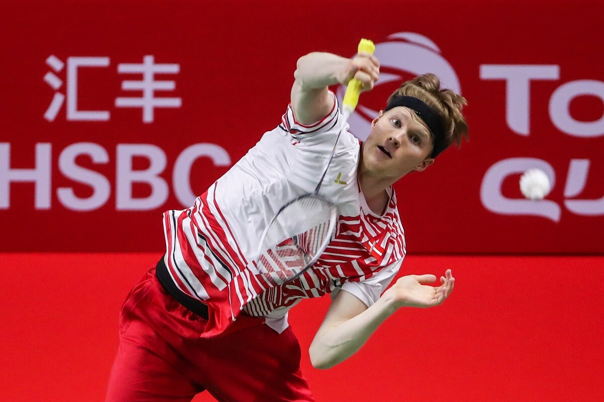Anders Antonsen - World Tour Finalerne - BWF - Verdens bedste - Badmintonphoto