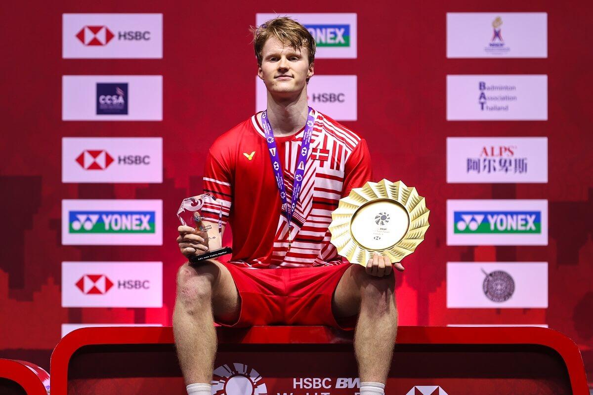 World Tour Finals 2020 - Anders Antonsen - Glæde - Pokal - Titel - Trumf - Sæsonfinaler - Finals - Anders Antonsen