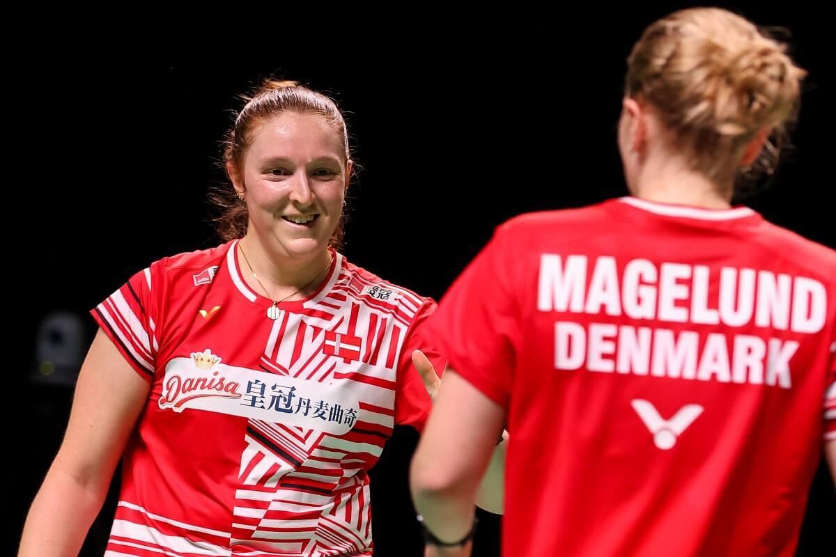 Maiken Fruergaard - Freja Ravn - VICTOR - Denmark - Danmark - landshold - EM for blandede hold - Mesterskab - Amalie Magelund