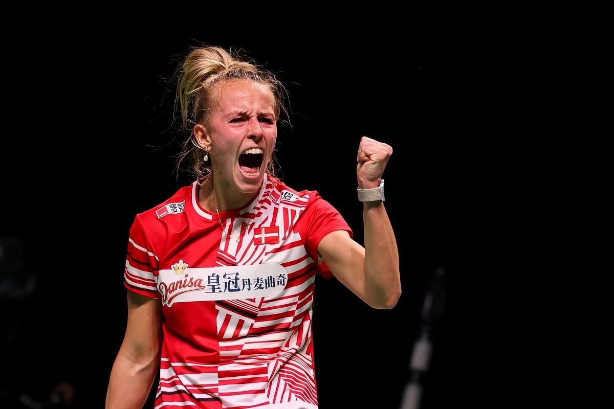 Mia Blichfeldt - glæde - VICTOR - Denmark - Danmark - landshold - EM for blandede hold - Mesterskab