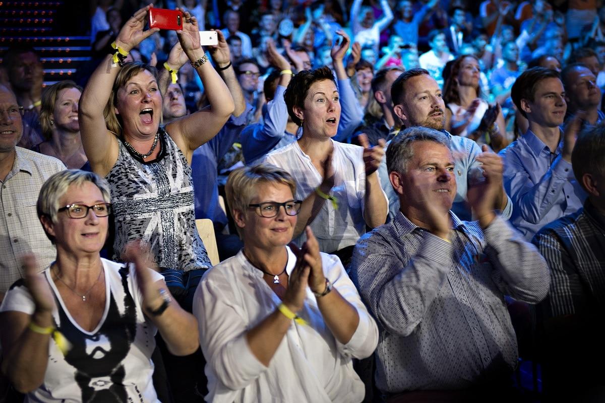BadmintonVM270 - VM 2014 - Fans - Fan - tilskuer - tilskuere - oplevelse - glæde - stemning - klappe