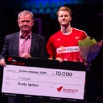 Badminton DM - Årets Spiller - Årets Badmintonspiller - Anders Antonsen - René Toft - Pris - Award - Allan Høgholm - DM - Danmarksmesterskabet