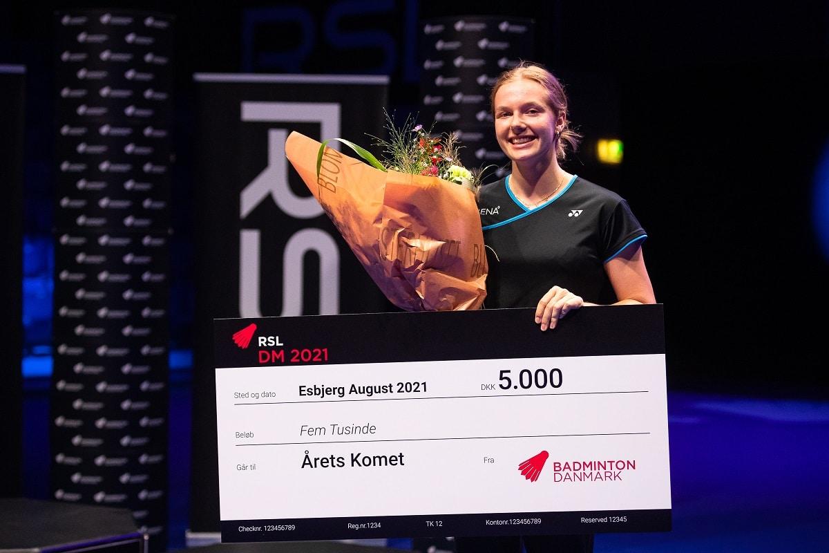 Amalie Schulz Terp-Nielsen - Årets Komet - Glæde - Pris - Award - RSL