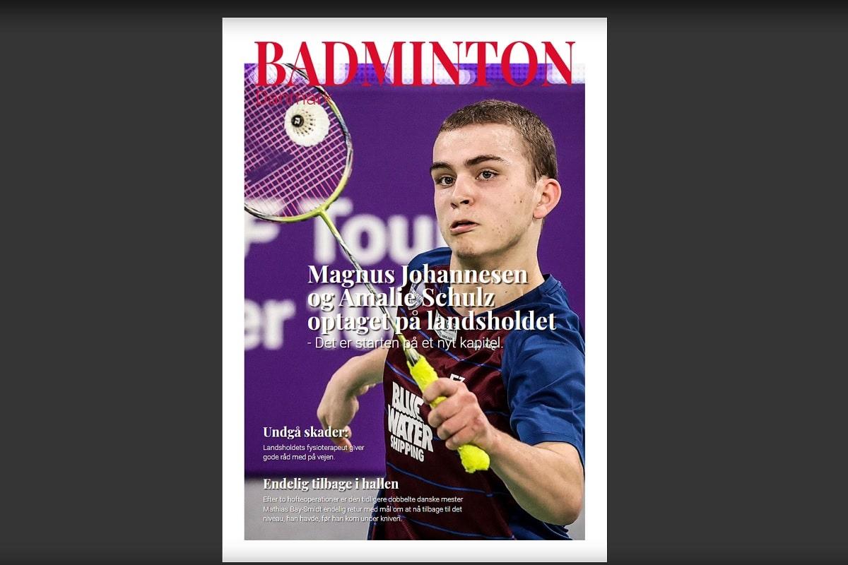 Badminton Magazine - RSL DM 2021 - Magasin - Magnus Johannesen