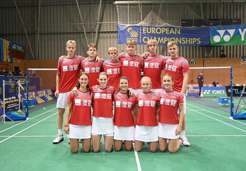Badminton Europe Photo - U17 EM - Slovenien - Danmark