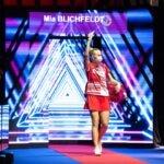 Mia Blichfeldt - indgang - lys - spillerportal - spillerindgang - Thomas og Uber Cup -