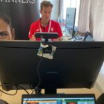 Frivillig - Mixed zone - presse - digital video hub - interview - skype - zoom - Ondrej Kralik - Thomas og Uber Cup - Aarhus - 2020 - 2021 - Sport Event Denmark