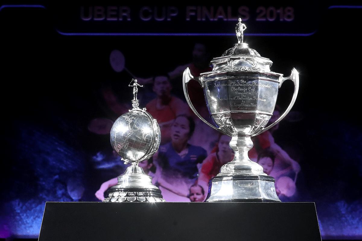 Thomas Cup pokal - Uber Cup pokal - pokaler - priser - trophy - vinder - præmie
